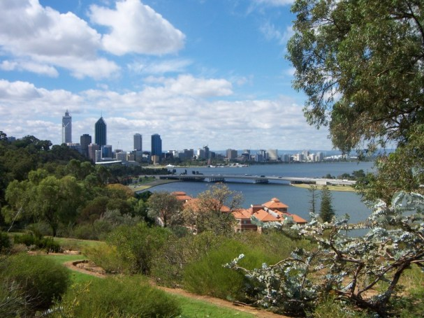 View from King's Park Botanical Garden