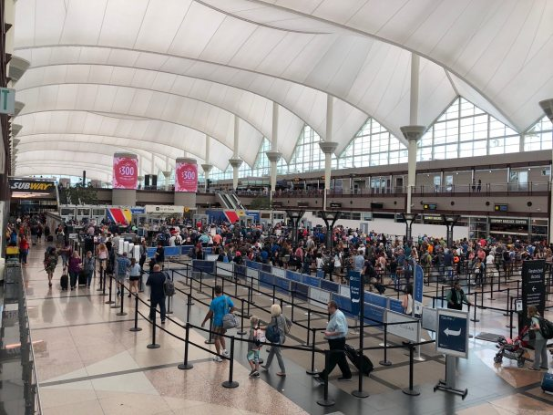 Checked in at Denver International Airport (DEN)