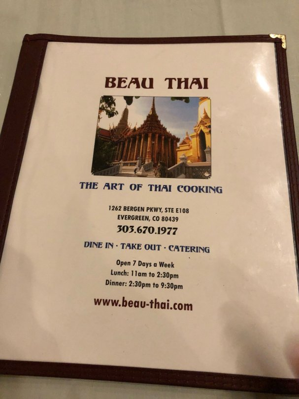 Checked in at Beau Thai