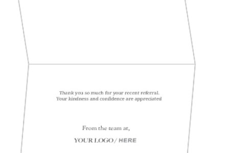 best Thank You Card For Patient Referral image collection