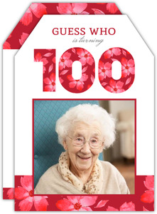 100th birthday invitations purpletrail