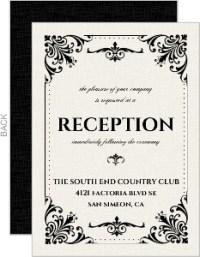 halloween reception invitations