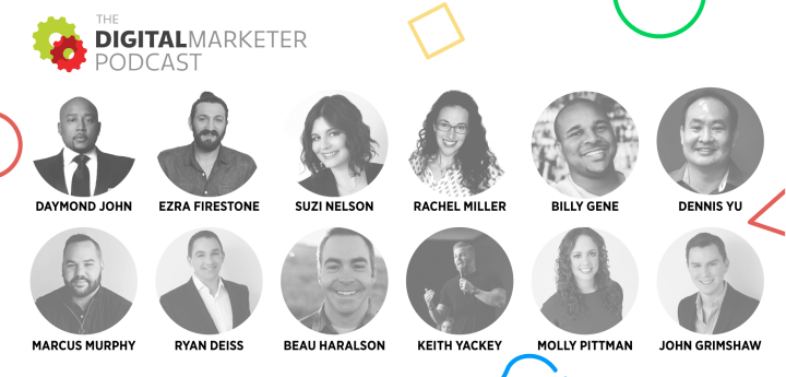 Guests of The DigitalMarketer Podcast