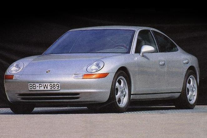 Before The Porsche Panamera There Was The 989 Sedan