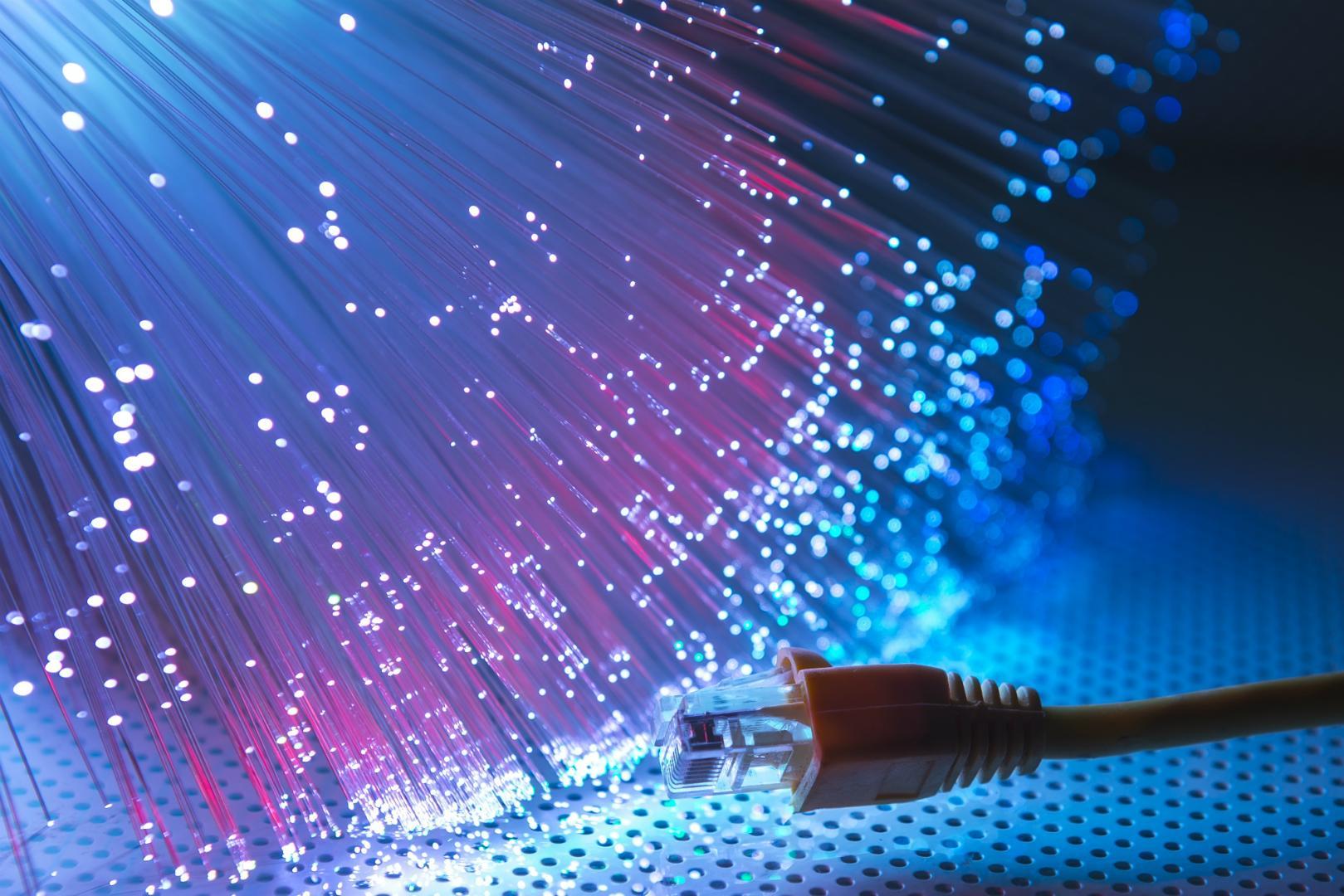 Smart Fiber Optics Home