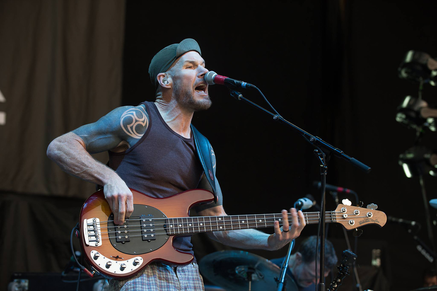Rage Against The Machine Bassist Tom Commerford Picks Up