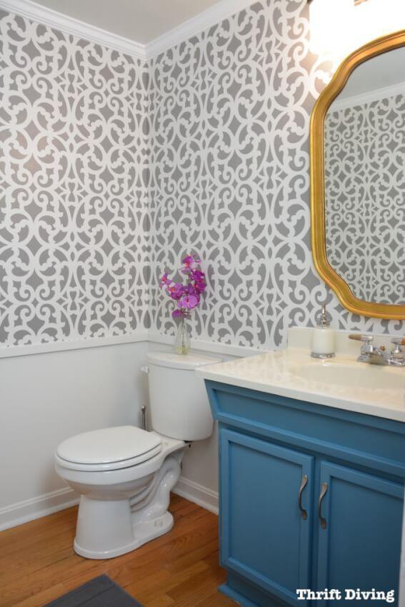 small half bathroom storage ideas