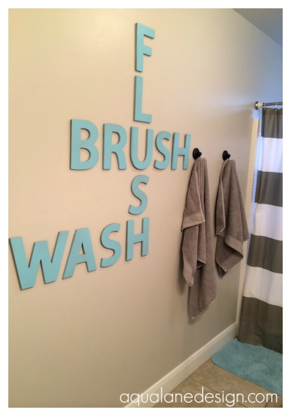 rustic half bath decorating ideas
