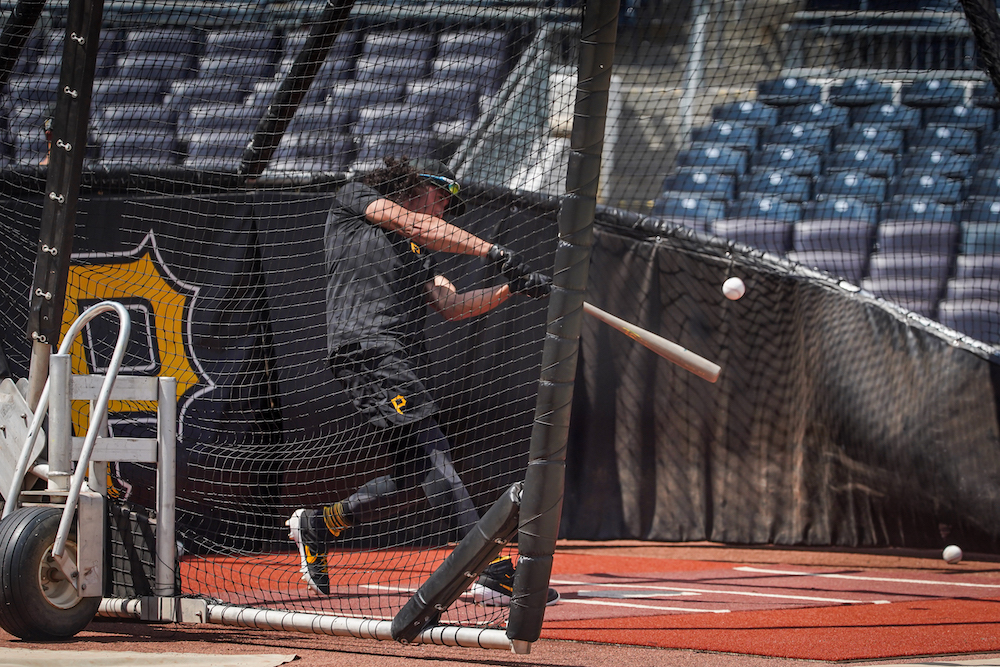 Photo of Pirates camp notes: Why Cole Tucker was instructed, 'do not mess this up'