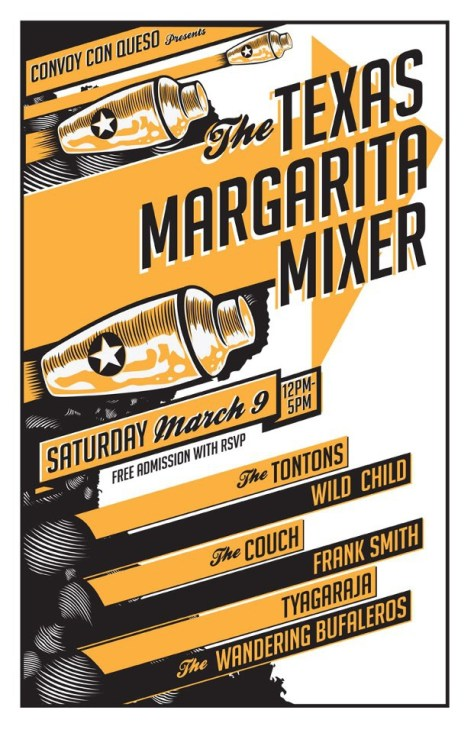 The Texas Margarita Mixer, SXSW, Austin, TX, 3.9.13