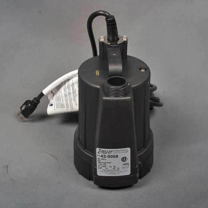 floor sucker sump pump used for dry basements in Alpena