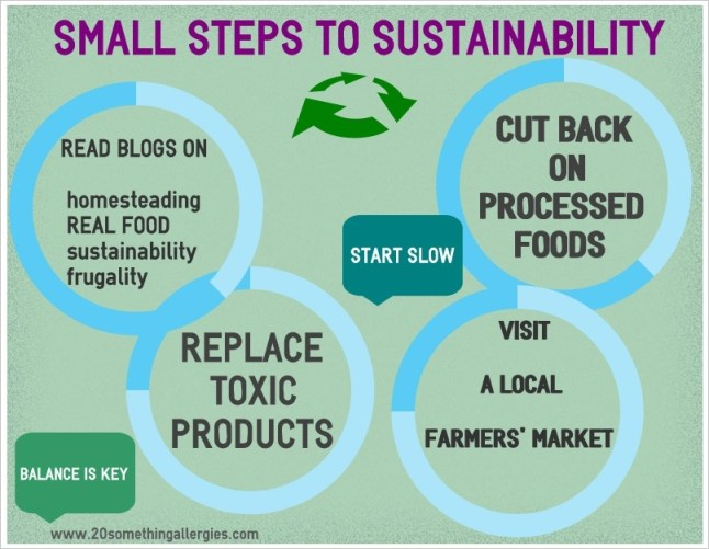 Small Steps to Sustainability
