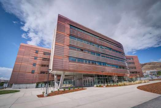Architectural Digest acknowledged Lassonde Studios alongside buildings in the United States, Norway and China.(University of Utah/Lassonde Studios photo)