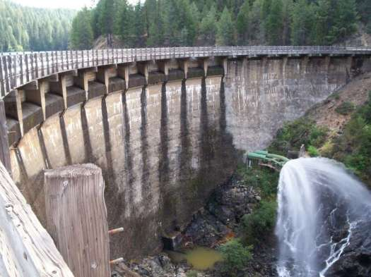 Once complete, the rehabilitated Lost Creek Dam is estimated to withstand potential floods and earthquakes for another century.