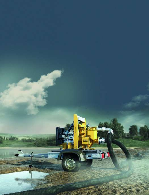 Atlas Copco's offering for the dewatering market is comprised of highly efficient wet and dry prime centrifugal pumps for construction, drainage and emergency applications, plus specialized models for wellpoint applications and pumping abrasive liquids and bentonite mud.