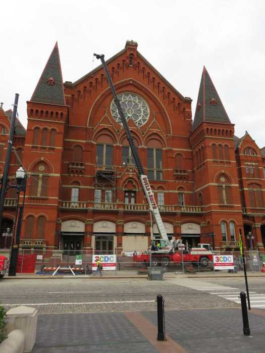The Music Hall in Cincinnati — owned by the city, built in 1878 and designated as a National Historic Landmark in 1975 — is nearing the end of a $135 million-plus renovation.