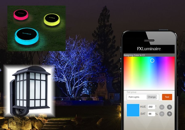 smart outdoor lighting ideas for home