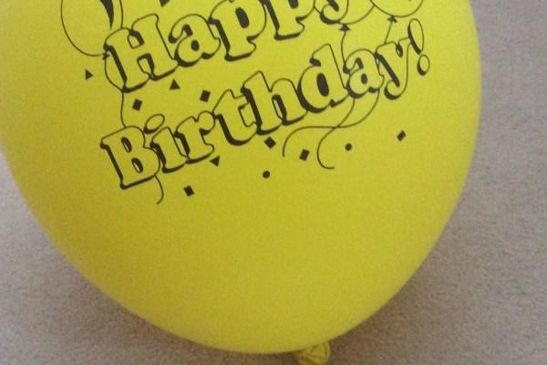 """Happy Birthday!"" by Alex Jury"