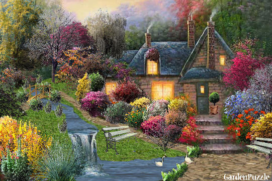 GardenPuzzle - project My Dream Home on My Dream Patio  id=21449