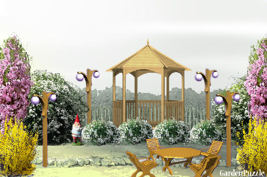 GardenPuzzle - project My Dream Garden on My Dream Patio id=30007
