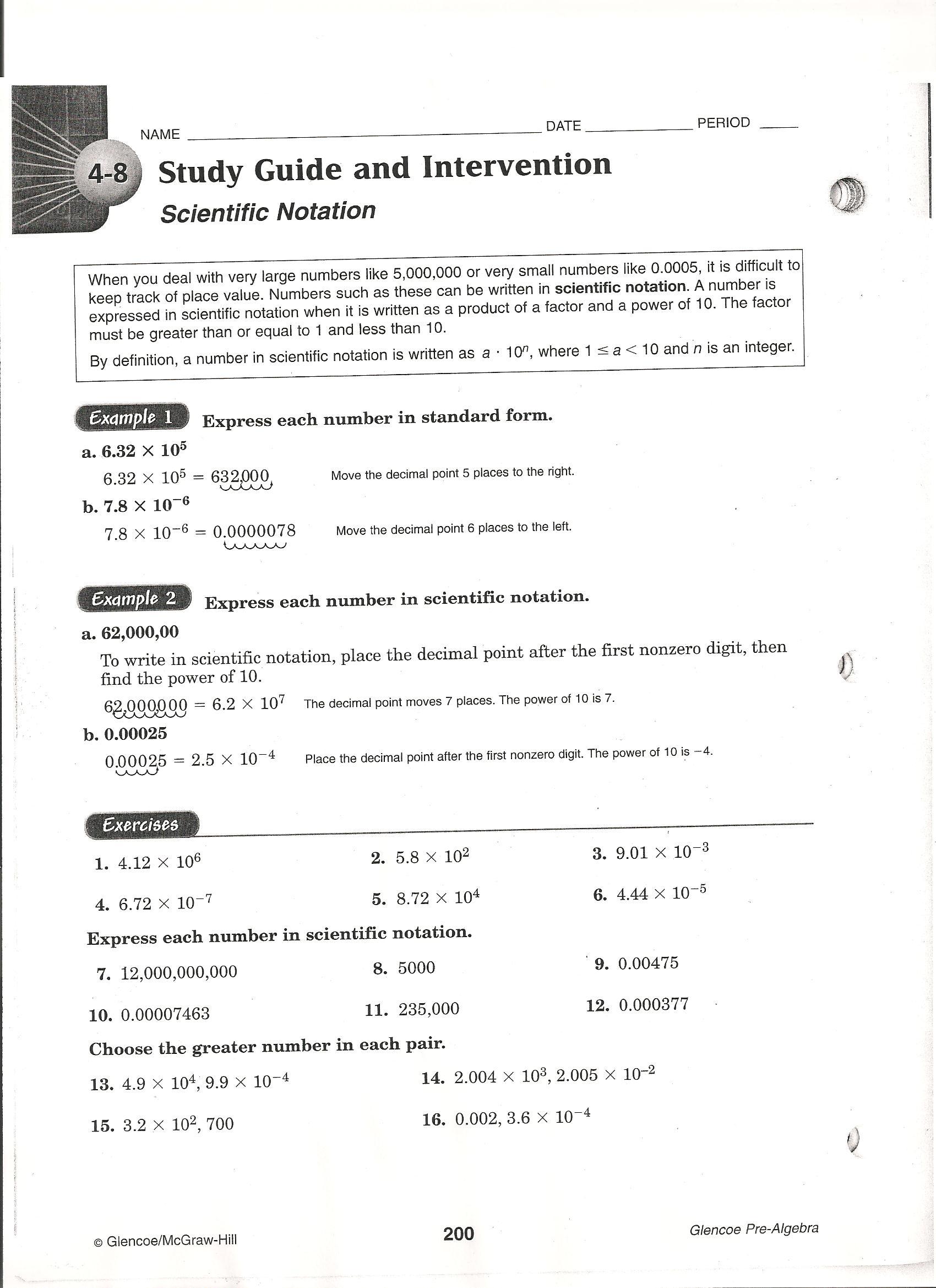 Nauset Regional School District Green Pre Algebra Essign