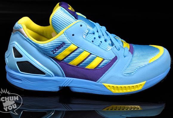 GET Adidas ZX 8000 Blue Yellow