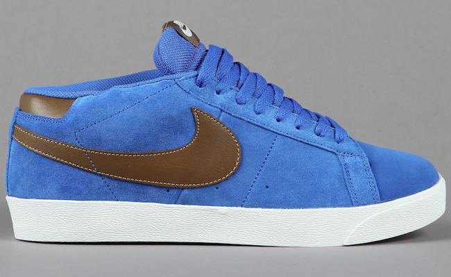 Nike SB Blazer CS | Blue Sapphire / Dark Khaki