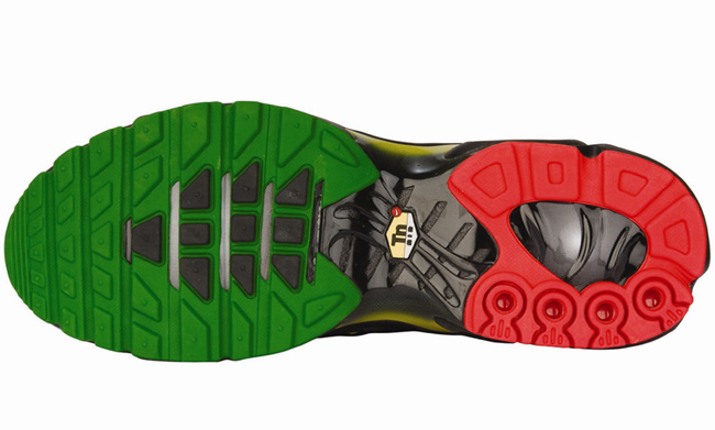 Air Max Plus (1 Écoute) Flag Rasta