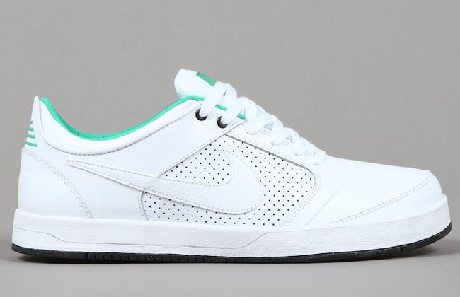 Nike SB Zoom P-Rod 4 Low | White / Lucid Green