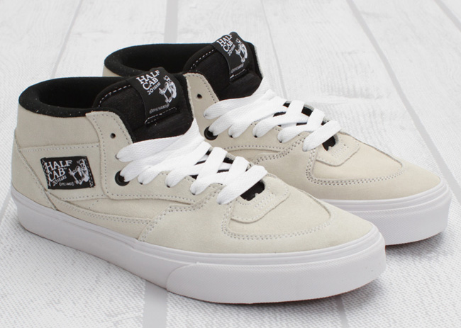 vans half cab all white