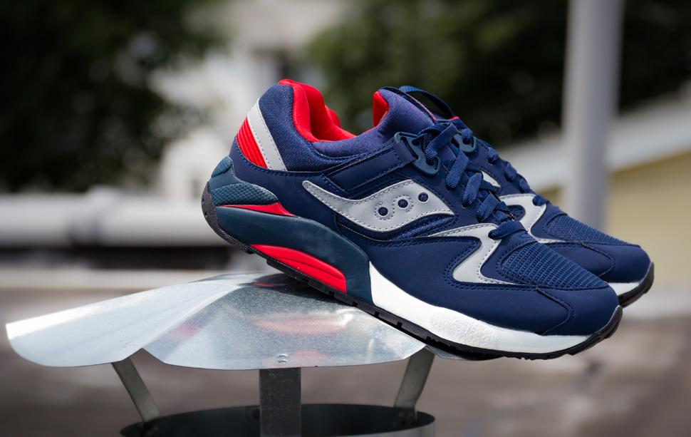 64a09801741b Buy saucony grid 9000 grey blue   52% OFF!