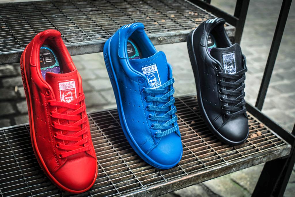 adidas consortium x pharrell williams stan smith 'solid'