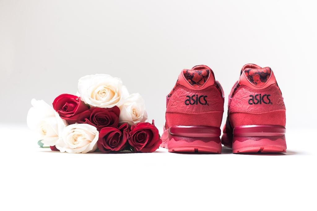 asics gel lyte v valentines roses