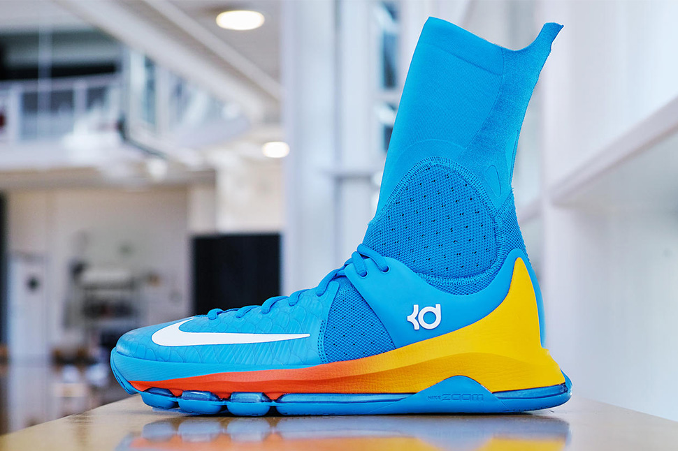 """info for 2a8d6 2b38d Nike Basketball """"Powder Blue"""" KD 8 Elite Playoffs PE for Kevin Durant"""