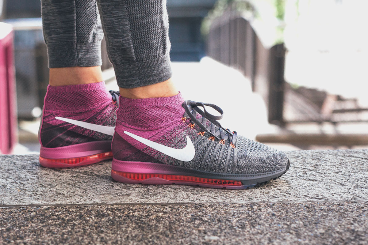 ... On-Foot Nike WMNS Zoom All Out Flyknit ...