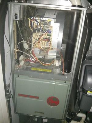Wiring  Honeywell TruesteamRheem 90