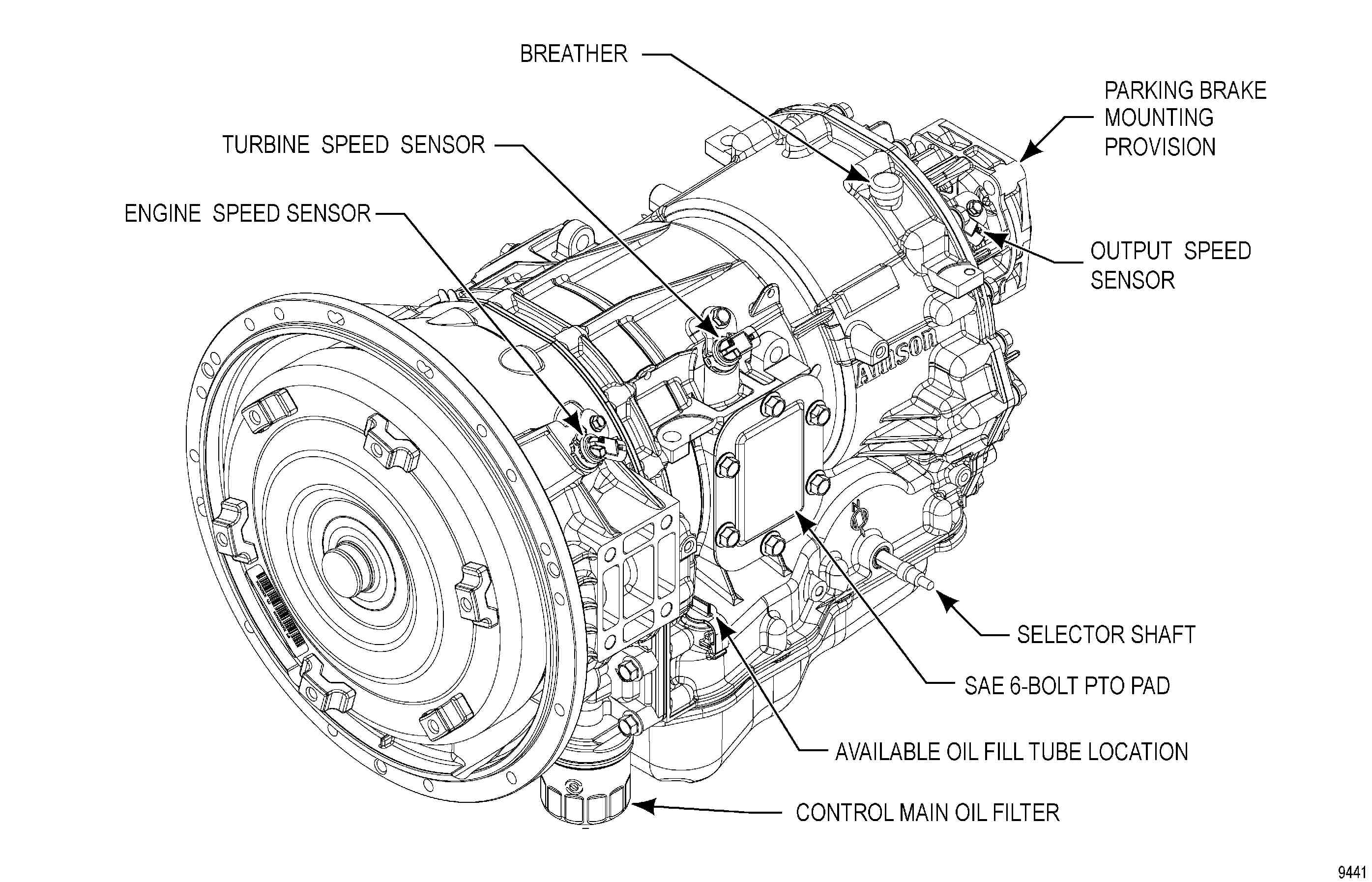 Allison Transmission 1000 Series Wiring Diagram