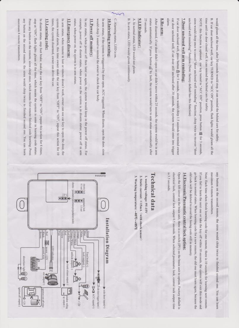 8beef Spy 5000m Alarm Wiring Diagram