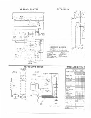 I have a Trane XL1400 heat pump (Model TWY042B100A1) and the