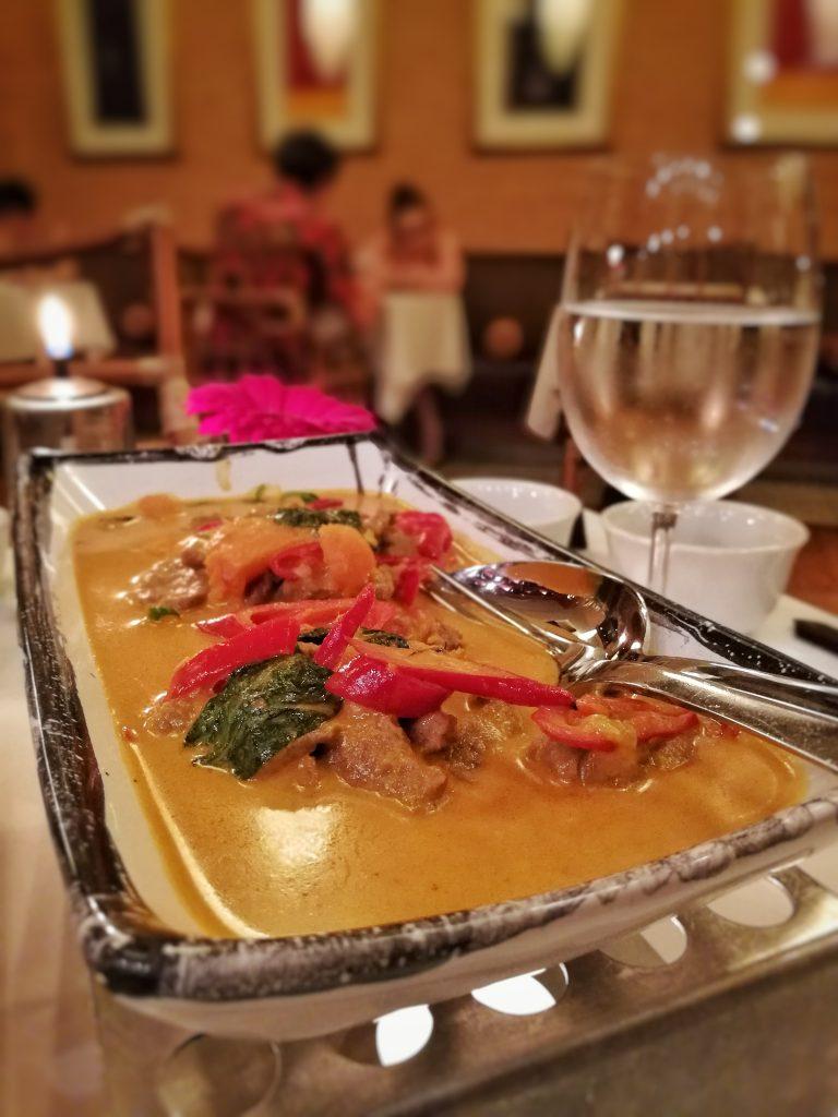 Beef curry, Rickshaw, Corinthia Hotel Prague