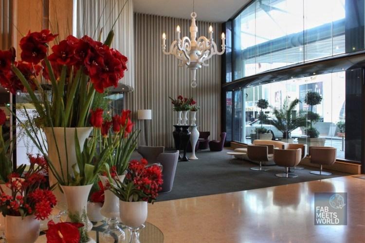 Intercontinental Malta Hotel entrance
