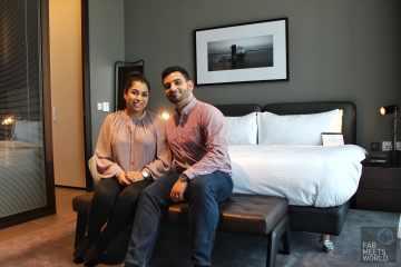 Intercontinental Malta Hotel Highline Suite bedroom