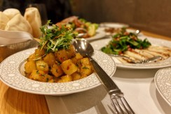 Batata Harra at Mijana restaurant in The Ritz-Carlton Abu Dhabi