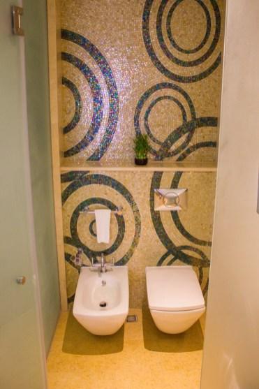 Toilet cubicle at The Ritz-Carlton Abu Dhabi