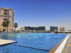 Poolside at The Ritz-Carlton Abu Dhabi