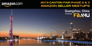 Amazon Sellers Meetup - TOMORROW! - Canton Fair - Phase 2 - Friday 25th October - FREE EVENT