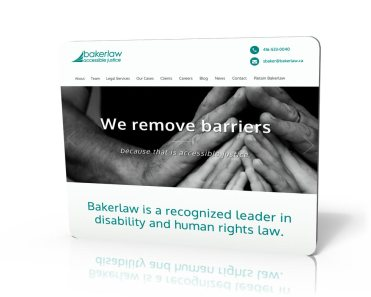 Websites for the legal profession - secure dependable