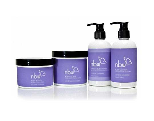natural product line packaging non-gmo purple white plastic black lids focused creative communications canada