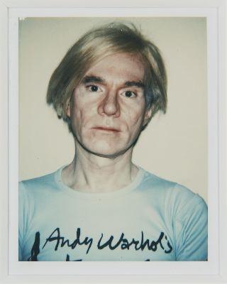 Selected Works Polaroid Self Portraits Andy Warhol Exhibitions Van De Weghe