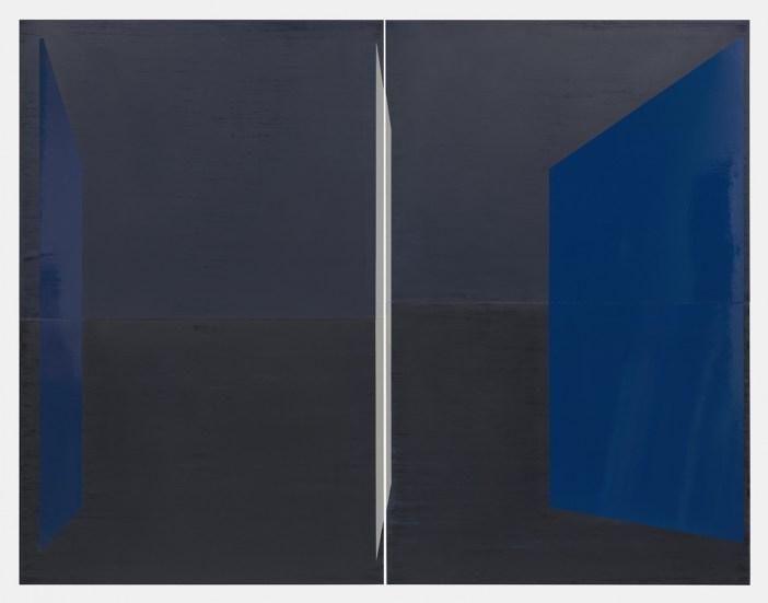 """Kate Shepherd, """"Guest"""" (2019), em exposição na Lelong"""